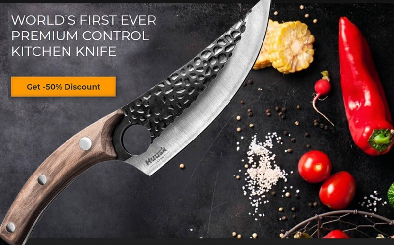 what is Huusk knife made of