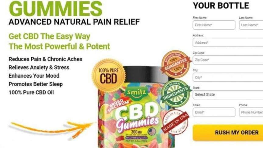 Smilz CBD Gummies Shark Tank – #1 CBD Gummies *REVIEWS* Pros & Cons, Price  – Business