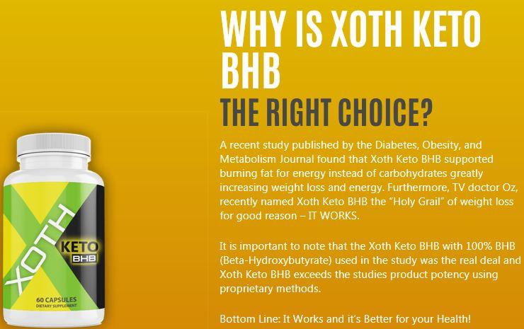 Xoth Keto BHB Reviews