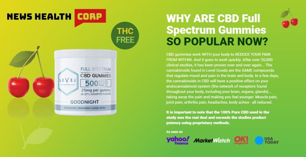 Level Goods CBD Gummies – Fake Rip-off Risky Side Effects & Buy! – Business